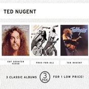 Cat Scratch Fever/Free-For-All/Ted Nugent (3 Pak) Songs