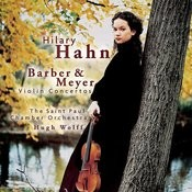 Barber & Meyer: Violin Concertos Songs