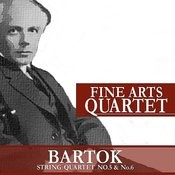 Bartók: String Quartet No. 5 And No. 6 Songs