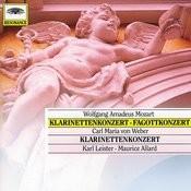 Mozart, W.A.: Clarinet & Bassoon Concerto; Weber: Clarinet Concerto Songs