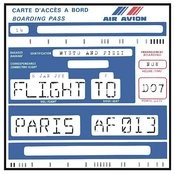 Flight to Paris Songs