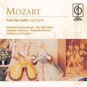 Mozart: Così fan tutte (Highlights) Songs