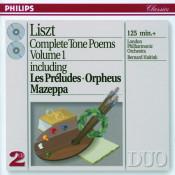 Liszt Complete Tone Poems Vol 1 Songs