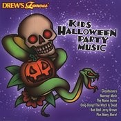 Drew's Famous Kids Halloween Party Music Songs