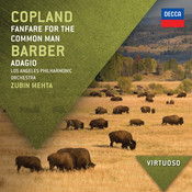 Copland: Fanfare For The Common Man / Barber: Adagio Songs