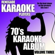 70's Karaoke Album Volume Three Songs