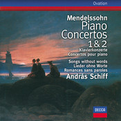 Mendelssohn: Piano Concertos Nos.1 & 2; Songs without words Songs