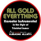 All Gold Everything (In The Style Of Trinidad James) [Karaoke Instrumental Version] - Single Songs