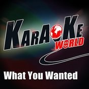 What You Wanted (Originally Performed By One Republic)[Karaoke Version] Song