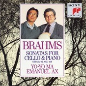 Brahms: Sonatas For Cello & Piano, Opp. 38., 99 And 108 Songs