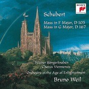 Schubert: Mass in F Major, D 105; Mass in G Major, D 167 Songs