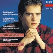 Rachmaninov/Shostakovich/Lutoslawski: Rhapsody on a Theme of Paganini/Piano Concerto No.1/Paganini Vars Songs