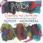Bartók: Concerto For Orchestra/Music For Strings, Percussion & Celesta Songs