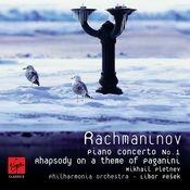 Rachmaninoff: Piano Concerto No.1 - Rhapsody on a theme of Paganini Songs