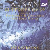 Alkan: 12 Etudes, Op.39 Songs