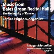 From Bales Organ Recital Hall Songs
