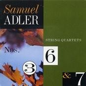 Samuel Adler: String Quartets Songs