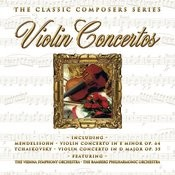 The Classic Composers Series - Violin Concertos Songs