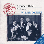 Schubert: Octet in F / Spohr: Octet in E Songs