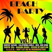 Beach Party Vol. 1 Songs