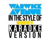 Warwick Avenue (In The Style Of Duffy) [Karaoke Version] - Single Songs
