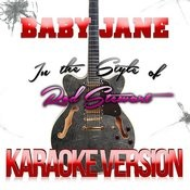 Baby Jane (In The Style Of Rod Stewart) [Karaoke Version] - Single Songs