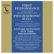 Inauguration Concert of Lincoln Center's Philharmonic Hall Songs