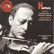 Bruch/Vieuxtemps: Concertos Songs