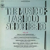 The Music Of Arnold Schoenberg, Vol. II Songs