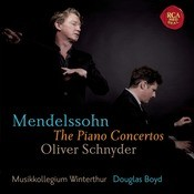 Mendelssohn: Piano Concertos Songs