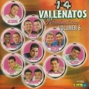 14 Vallenatos Románticos, Vol. 6 Songs