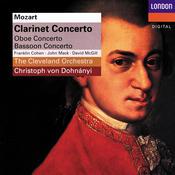 Mozart: Clarinet Concerto; Oboe Concerto; Bassoon Concerto Songs