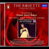 Bach/Purcell/Rameau/Cavalli/Ravel/Chausson - Janet Baker Songs