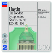 Haydn The London Symphonies Nos 95 96 98 Songs