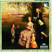 William Boyce: 8 Symphonies Songs