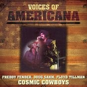 Voices Of Americana: Crazy Cajun's Cosmic Cowboys Songs