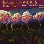 The Complete W.F. Bach Flute Duos Songs