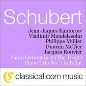 Franz Schubert, Piano Quintet In A 'The Trout', D. 667 Songs