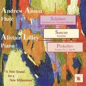 Schubert: Variations On 'Trockne Blumen' - Sancan: Sonatine - Prokofiev: Sonata No. 2 Songs