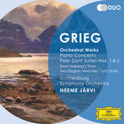 Grieg: Orchestral Works - Piano Concerto; Peer Gynt Suites Nos.1 & 2; From Holberg's Time; Two Elegiac Melodies; Lyric Suite Songs