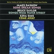 Dashow, Saylor & Sims: Vocal Works Songs