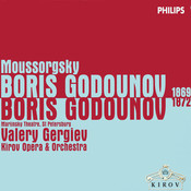 Boris Godounov (Version 1869) / Part 1: Moussorgsky: Boris Godunov (1869 & 1872 Versions) (5 Cds) Songs