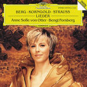Berg / Korngold / R. Strauss: Lieder Songs