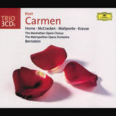 Bizet: Carmen (3 CD's) Songs