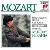 Mozart:  Concertos For Piano And Orchestra No. 1-4 Songs