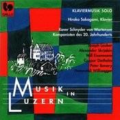 Musik In Luzern: Schnyder Von Wartensee - Lauber - Scriabin - Eisenmann - Diethelm - Benary - Willisegger: Klaviermusik Solo Songs