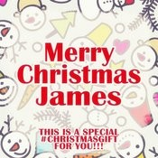 Merry Christmas James - A Special #christmasgift For You Songs