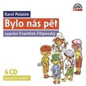 Poláček: Bylo Nás Pět Audiokniha Komplet 4cd Songs