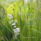 Intimate Voices - Sibelius String Quartets Songs