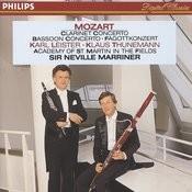 Mozart: Clarinet & Bassoon Concertos Songs